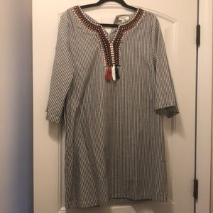 Chambray dress by Hayden